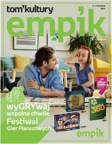 Gazetka promocyjna Empik.com, ważna od 04.04.2018 do 17.04.2018.