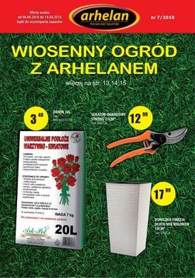 Gazetka promocyjna Arhelan - Wiosenny ogród