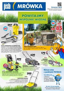 Gazetka promocyjna PSB Mrówka - Powitajmy wspólnie wiosnę