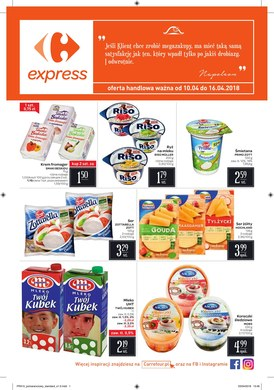 Gazetka promocyjna Carrefour Express - Najbliżej masz do nas