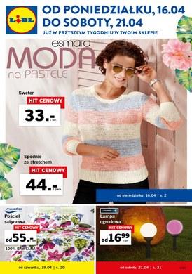 Gazetka promocyjna Lidl - Moda na pastele