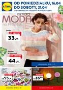 Gazetka promocyjna Lidl - Moda na pastele - ważna do 21-04-2018