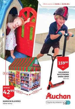 Gazetka promocyjna Auchan, ważna od 11.04.2018 do 21.04.2018.