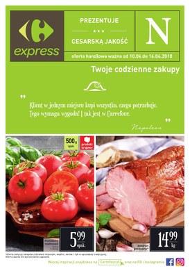 Gazetka promocyjna Carrefour Express - Cesarska jakosć