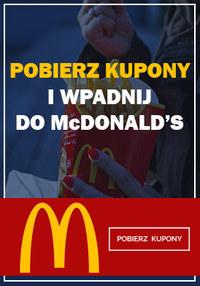 Gazetka promocyjna McDonald's - Pobierz kupony! - ważna do 15-04-2018
