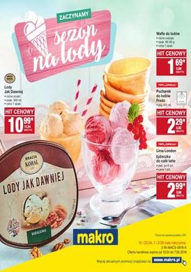 Gazetka promocyjna Makro Cash&Carry - Sezon na lody