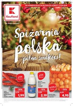 Gazetka promocyjna Kaufland, ważna od 09.04.2018 do 21.04.2018.