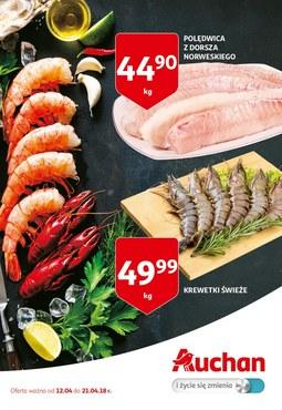 Gazetka promocyjna Auchan, ważna od 12.04.2018 do 21.04.2018.