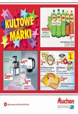 Gazetka promocyjna Auchan, ważna od 11.04.2018 do 17.04.2018.