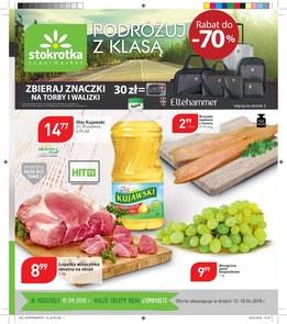 Gazetka promocyjna Stokrotka, ważna od 12.04.2018 do 18.04.2018.