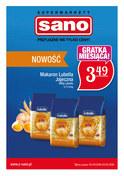 Gazetka promocyjna Sano - Przyjazne nie tylko ceny! - ważna do 02-05-2018