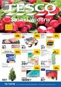 Gazetka promocyjna Tesco Hipermarket - Smaki wiosny - ważna do 18-04-2018
