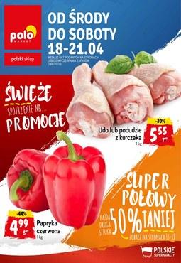 Gazetka promocyjna POLOmarket, ważna od 18.04.2018 do 21.04.2018.