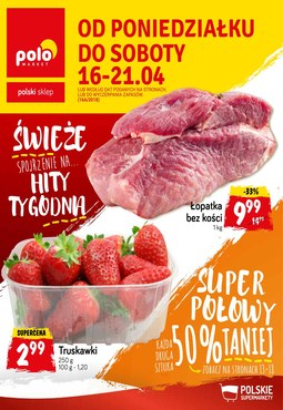 Gazetka promocyjna POLOmarket, ważna od 16.04.2018 do 21.04.2018.