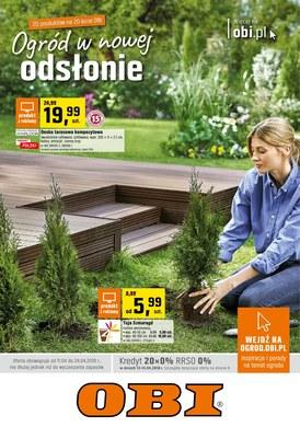 Gazetka promocyjna OBI - Ogród w nowej odsłonie