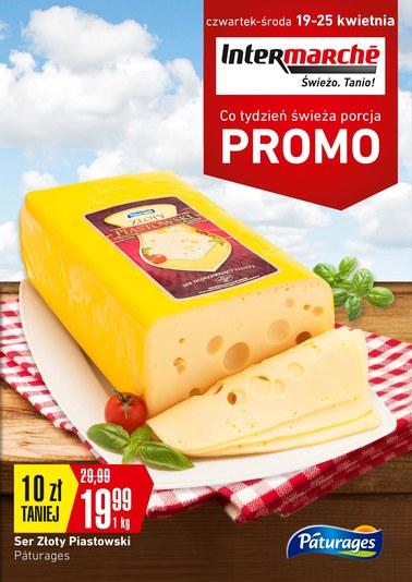 Gazetka promocyjna Intermarche Super, ważna od 19.04.2018 do 25.04.2018.