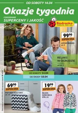 Gazetka promocyjna Biedronka, ważna od 14.04.2018 do 30.04.2018.