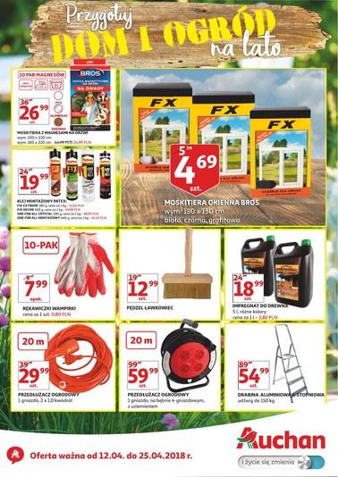 Gazetka promocyjna Auchan, ważna od 12.04.2018 do 25.04.2018.