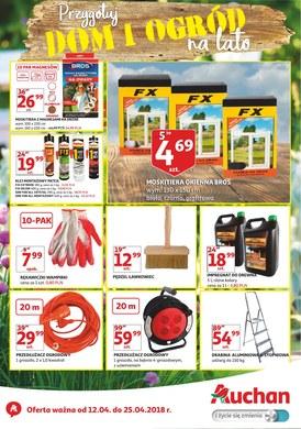 Gazetka promocyjna Auchan - Przygotuj dom i ogród na lato