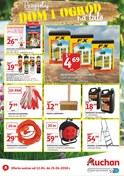 Gazetka promocyjna Auchan - Przygotuj dom i ogród na lato - ważna do 25-04-2018