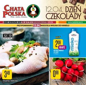 Gazetka promocyjna Chata Polska, ważna od 12.04.2018 do 18.04.2018.