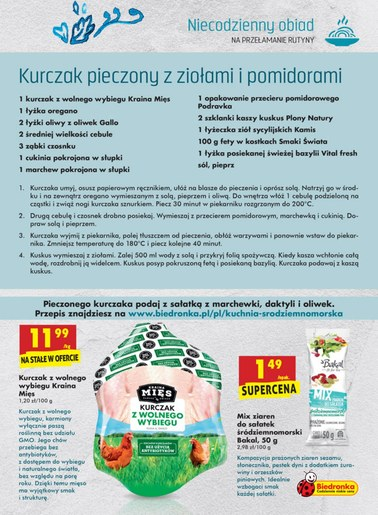 Gazetka promocyjna Biedronka, ważna od 12.04.2018 do 25.04.2018.