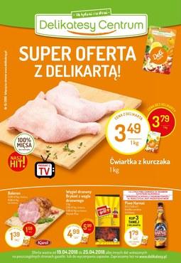 Gazetka promocyjna Delikatesy Centrum, ważna od 19.04.2018 do 25.04.2018.