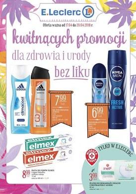 Gazetka promocyjna E.Leclerc - Kwitnących promocji dla zdrowia i urody bez liku