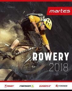 Gazetka promocyjna Martes Sport, ważna od 12.04.2018 do 31.08.2018.