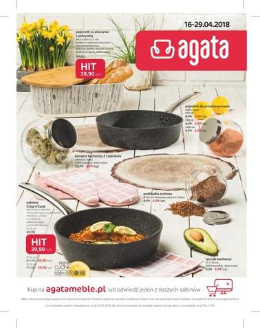 Gazetka promocyjna Agata , ważna od 16.04.2018 do 29.04.2018.