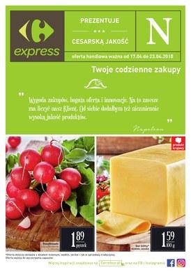 Gazetka promocyjna Carrefour Express - Prezentuje cesarską jakość