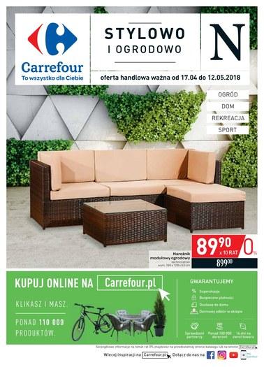 Gazetka promocyjna Carrefour, ważna od 17.04.2018 do 12.05.2018.