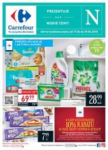 Gazetka promocyjna Carrefour, ważna od 17.04.2018 do 29.04.2018.