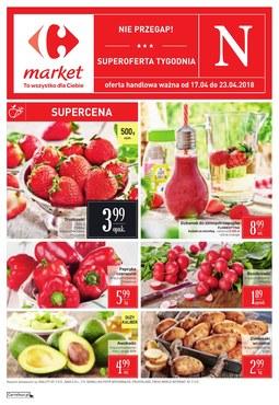Gazetka promocyjna Carrefour Market, ważna od 17.04.2018 do 23.04.2018.