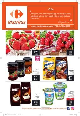 Gazetka promocyjna Carrefour Express, ważna od 17.04.2018 do 23.04.2018.