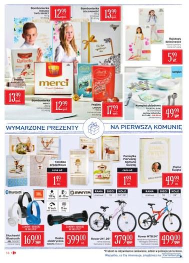 Gazetka promocyjna Carrefour Market, ważna od 17.04.2018 do 29.04.2018.