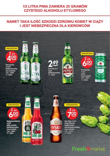 Gazetka promocyjna Freshmarket, ważna od 18.04.2018 do 01.05.2018.