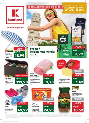 Gazetka promocyjna Kaufland, ważna od 19.04.2018 do 25.04.2018.