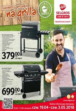 Gazetka promocyjna Selgros Cash&Carry, ważna od 19.04.2018 do 03.05.2018.