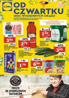 Gazetka promocyjna Lidl - Moc wiosennych okazji