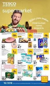 Gazetka promocyjna Tesco Supermarket, ważna od 19.04.2018 do 25.04.2018.