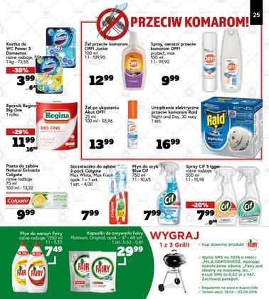 Gazetka promocyjna MILA, ważna od 19.04.2018 do 03.05.2018.
