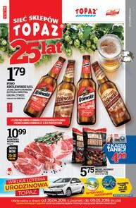 Gazetka promocyjna Topaz, ważna od 26.04.2018 do 09.05.2018.