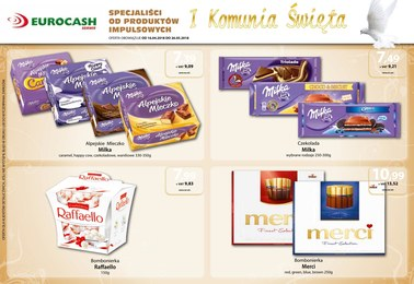 Gazetka promocyjna Eurocash Cash&Carry, ważna od 16.04.2018 do 26.05.2018.