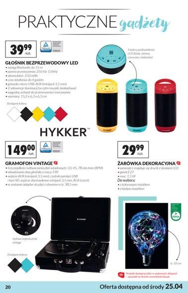 Gazetka promocyjna Biedronka, ważna od 21.04.2018 do 08.05.2018.