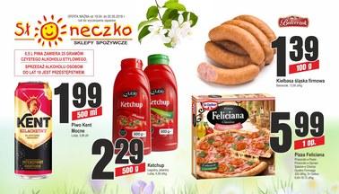 Gazetka promocyjna Słoneczko, ważna od 19.04.2018 do 02.05.2018.