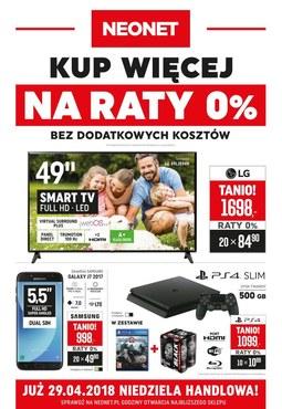 Gazetka promocyjna Neonet, ważna od 19.04.2018 do 02.05.2018.