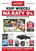 Gazetka promocyjna Neonet - Kup więcej na raty - ważna do 02-05-2018