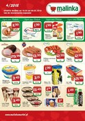 Gazetka promocyjna MALINKA Market - Oferta handlowa  - ważna do 19-05-2018