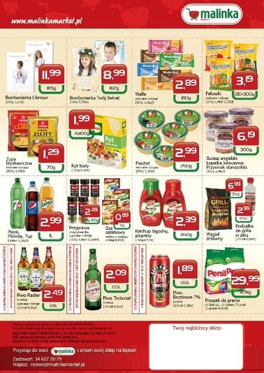 Gazetka promocyjna MALINKA Market, ważna od 19.04.2018 do 19.05.2018.